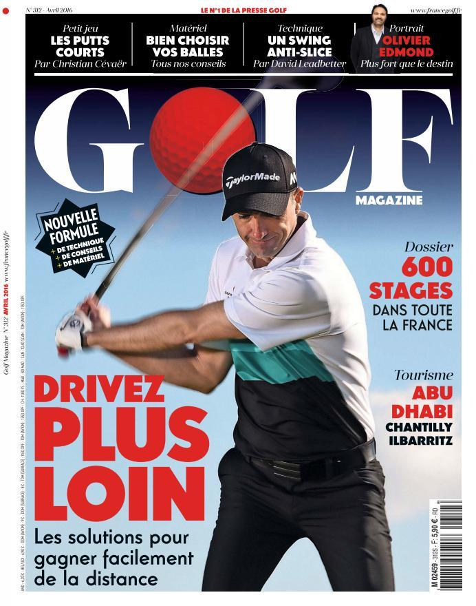 Golf Magazine - Avril 2016