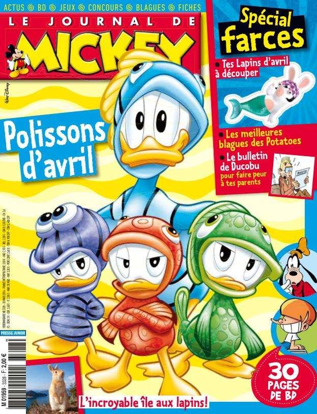 Le Journal de Mickey - 30 Mars au 5 Avril 2016