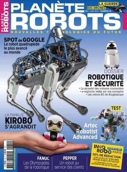 Planète Robots 39 – Mai-Juin 2016