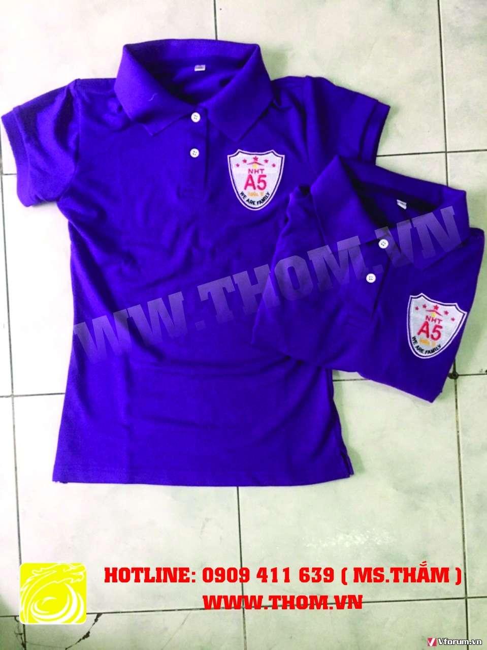 Xưởng may áo thun quảng cáo, áo thun đồng phục, áo thun sự kiện 0909411639