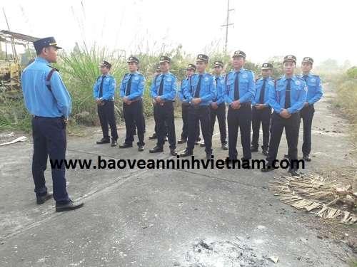 Triển khai bảo vệ nhà máy Thanh Nam tại Thanh Hóa