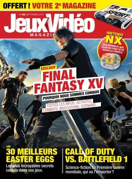 Jeux Vidéo Magazine - Septembre 2016