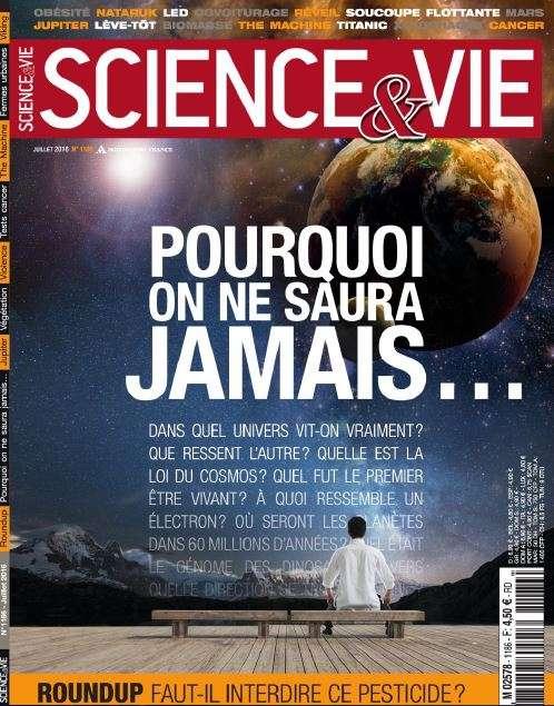 Science & Vie - Juillet 2016