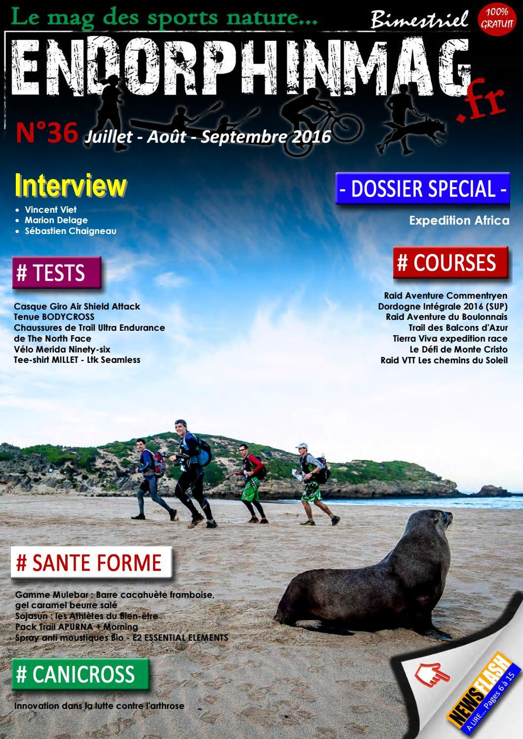 Endorphinmag - Juillet/Aout 2016