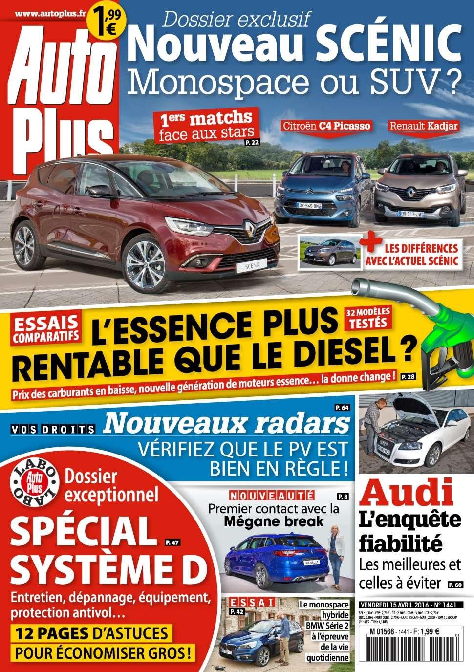 Auto Plus 1441 - 15 au 21 Avril 2016