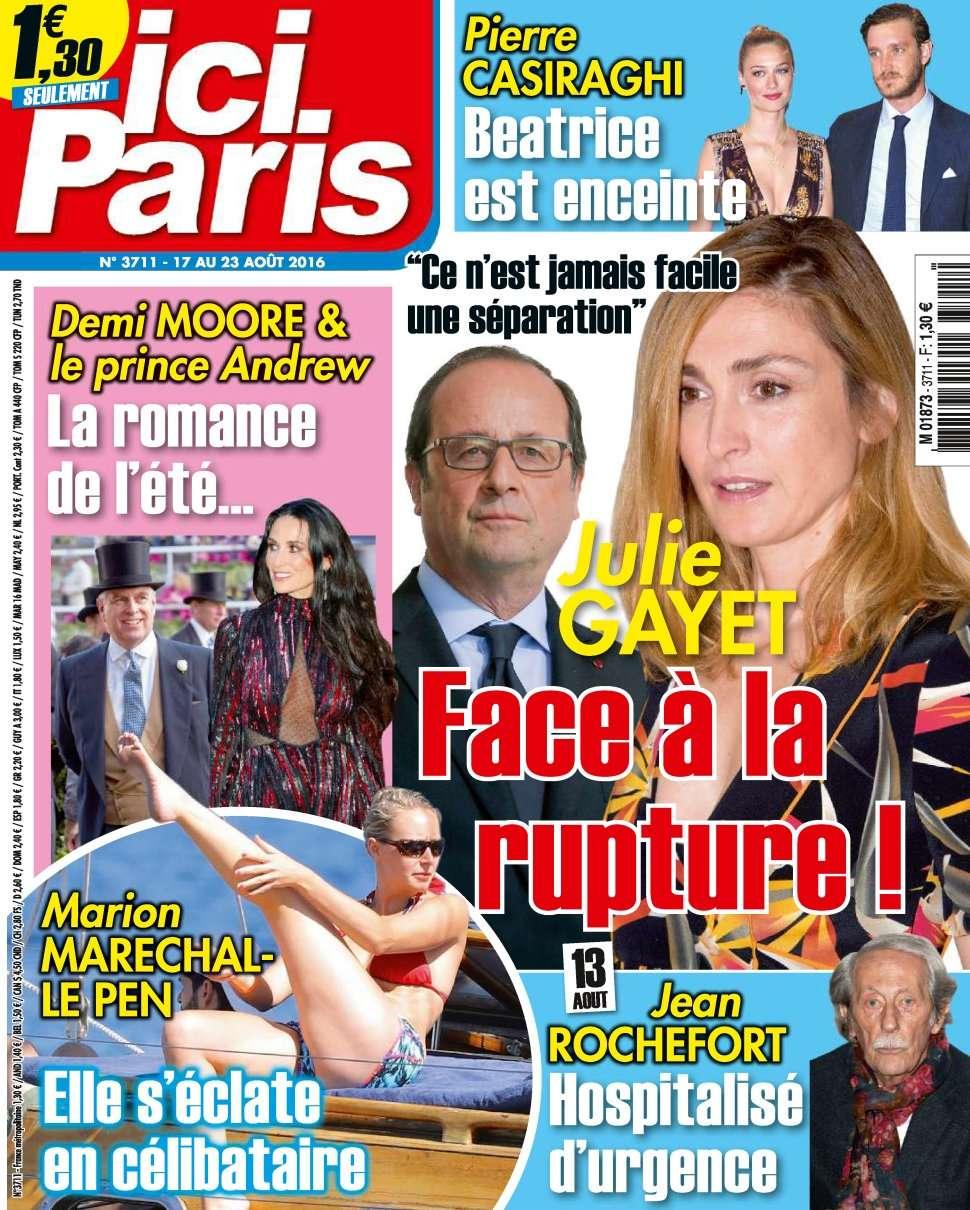 Ici Paris 3711 - 17 au 23 Août 2016