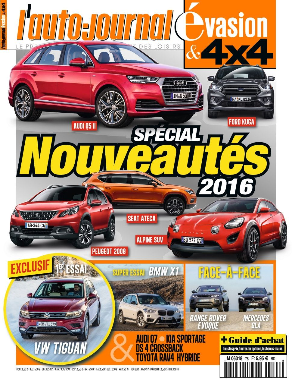 L'Auto-Journal 4x4 N76 - Guie d'chat 2016