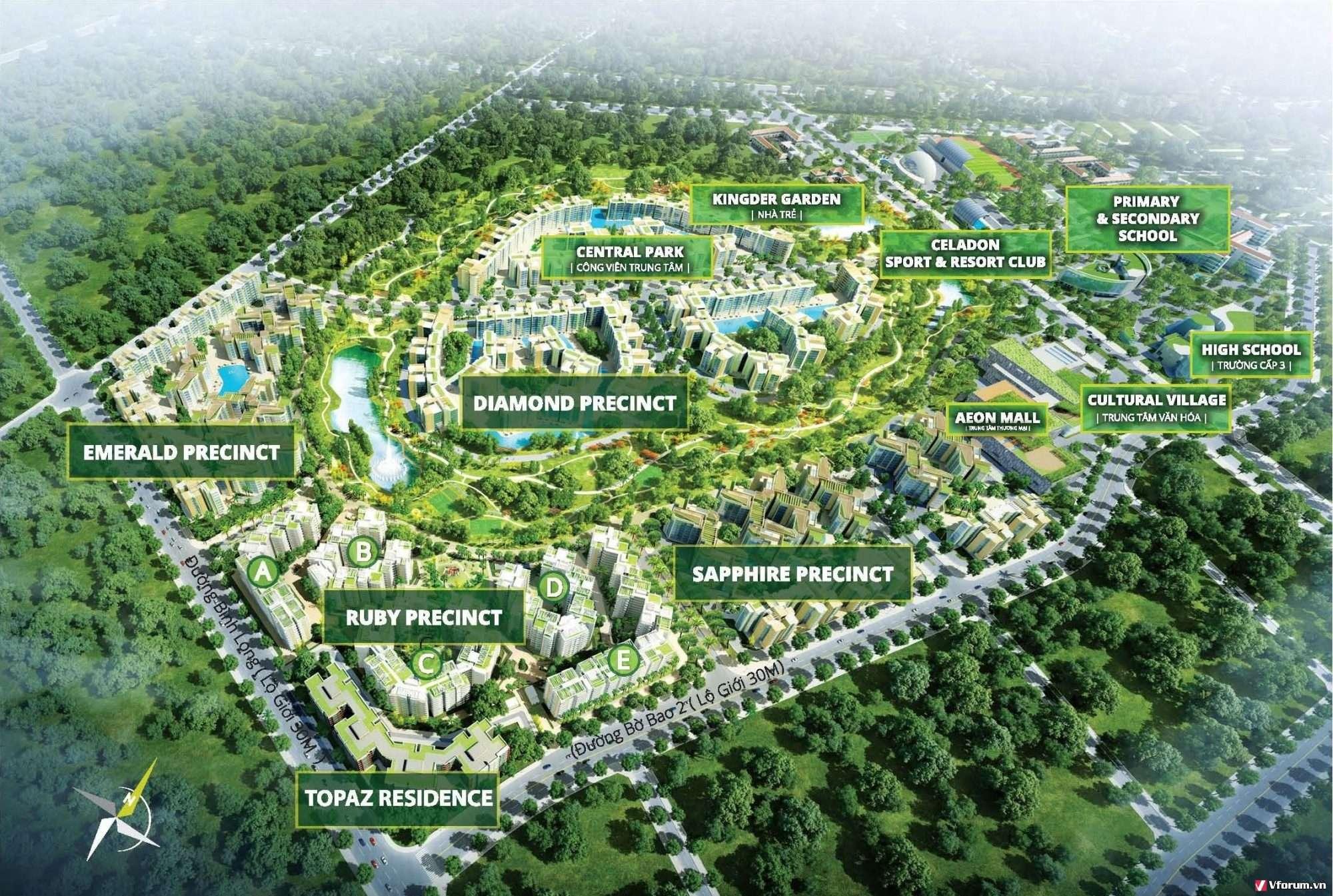 Khu Sapphire Celadon City