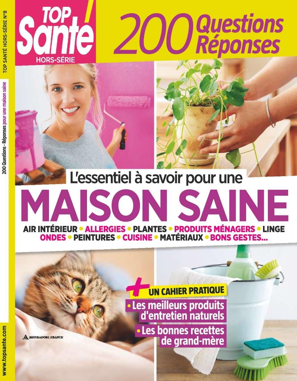 Top Santé Hors-Série 8 - Maison Saine
