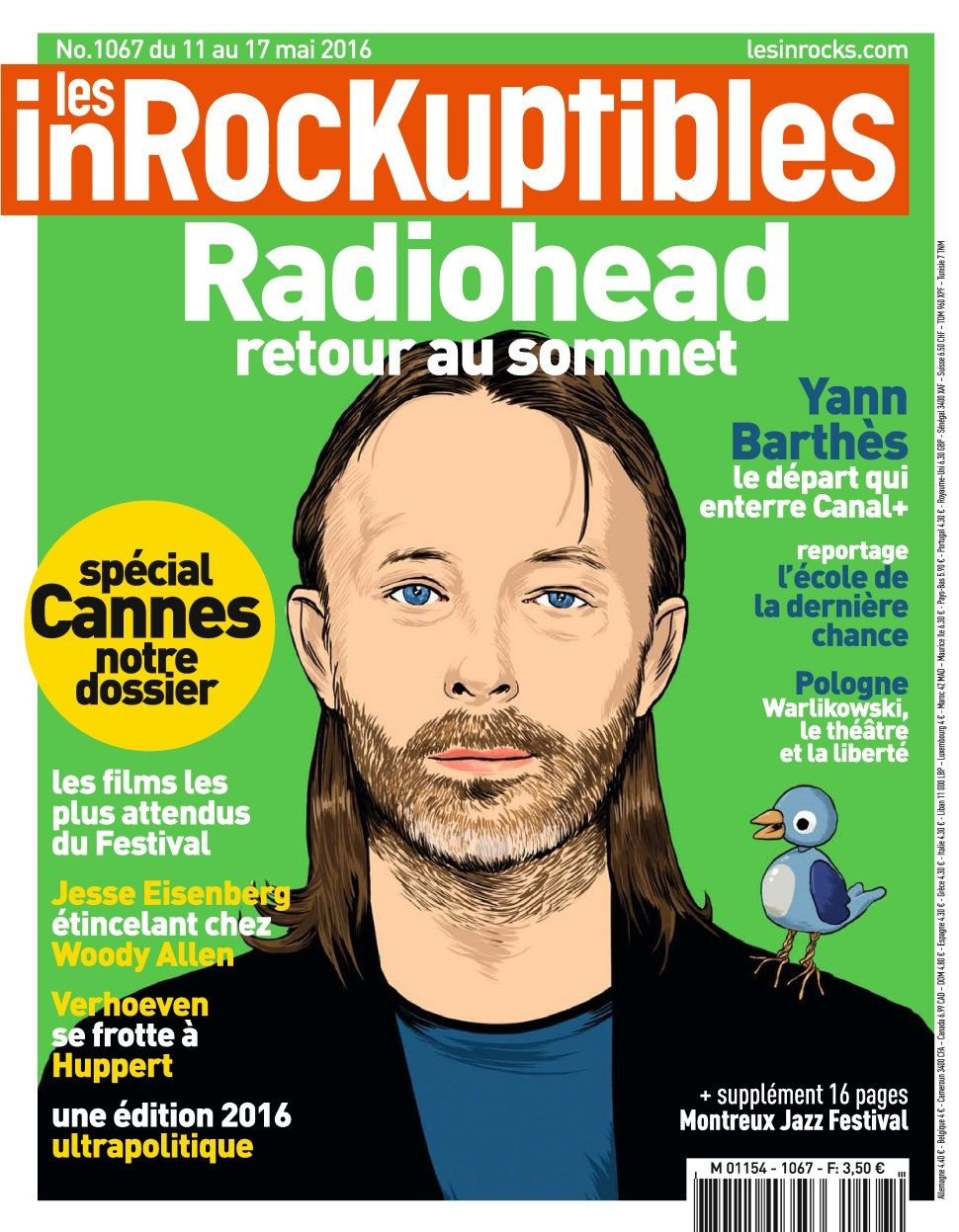Les Inrockuptibles 1067 - 11 au 17 Mai 2016