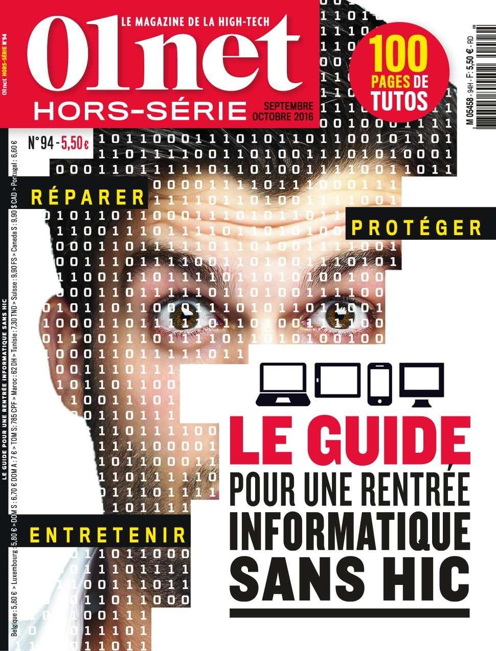 01net Hors-Série 94 - Septembre/Octobre 2016