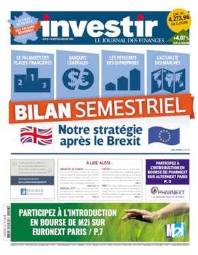 Investir 2217 Du 02 Au 08 Juillet 2016