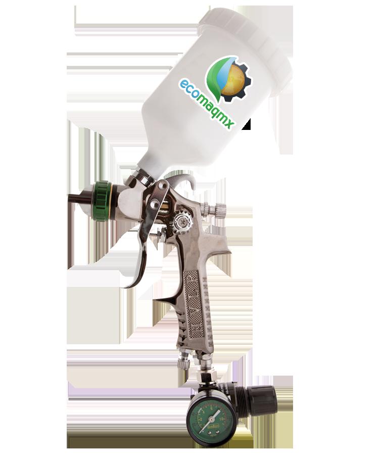 Pistola H.V.L.P. Tornado C/Reg Manometrro y tobera MOD 324