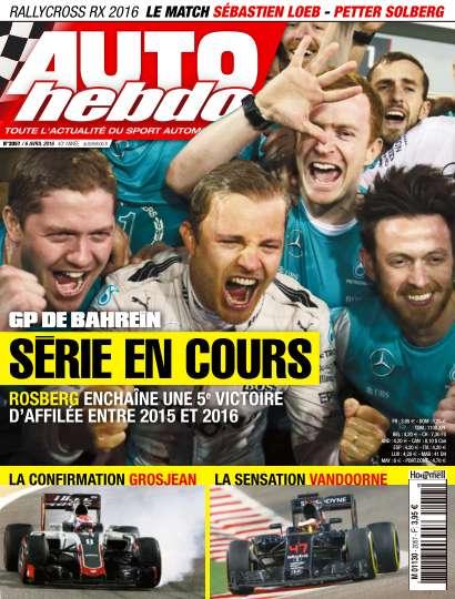 Auto Hebdo - 6 Avril 2016