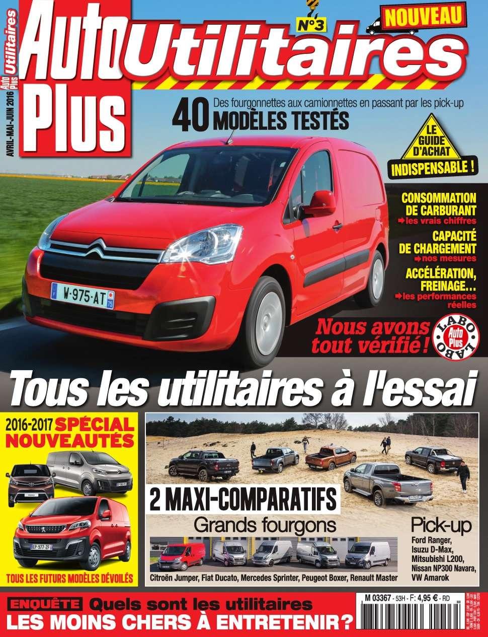 Auto Plus Hors-Série Utilitaires 3 - Mai/Juin 2016