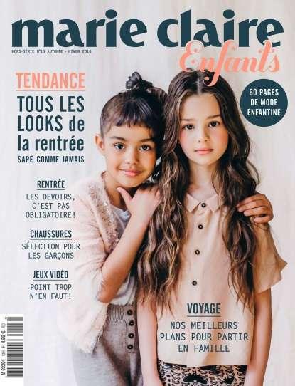 Marie Claire Enfants - Automne/Hiver 2016
