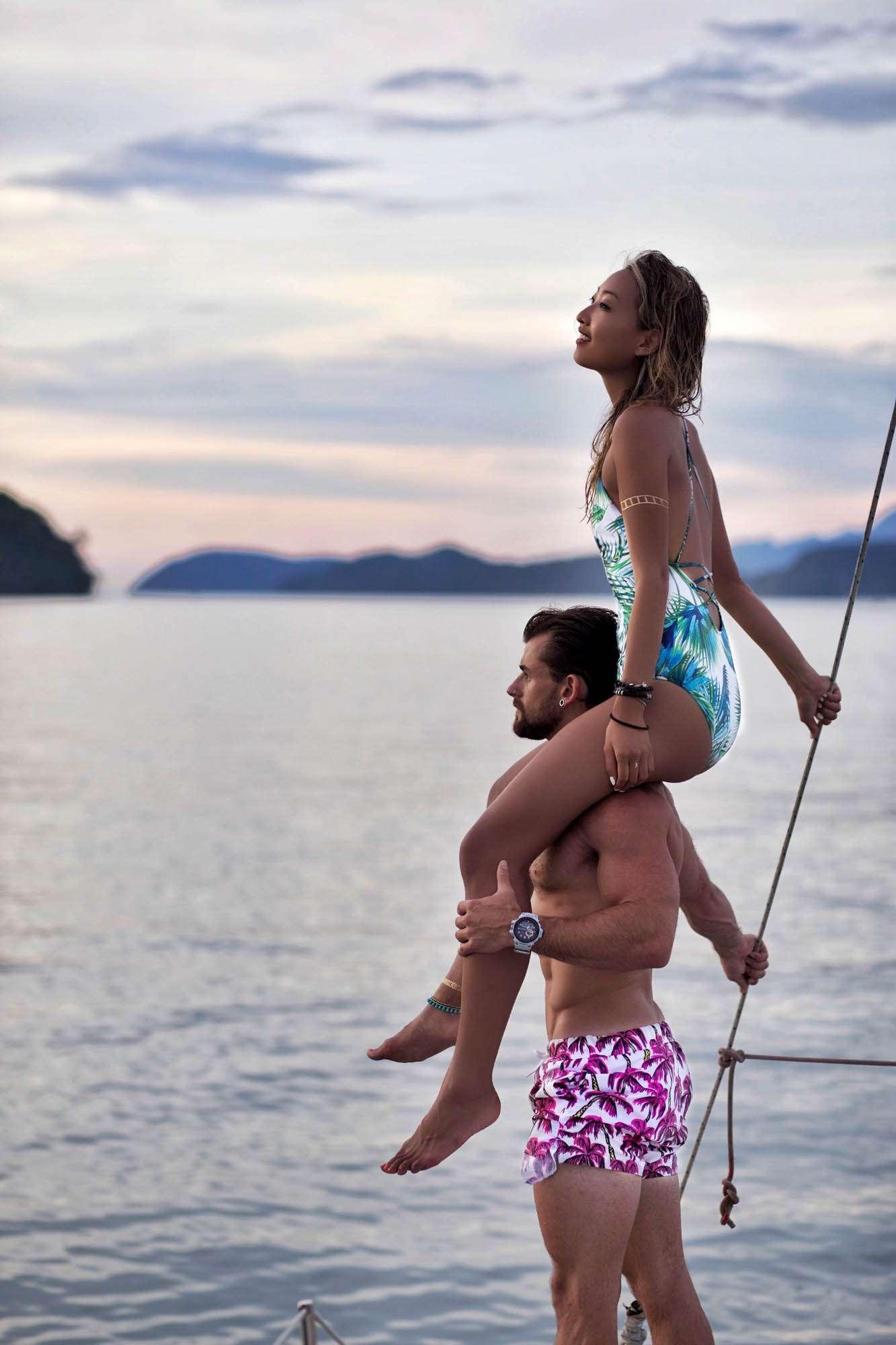 Nathan McCallum, Helen Chik, Contiki Asia Adventure