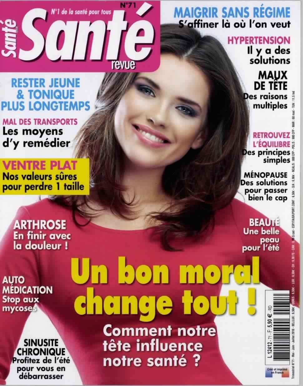 Santé Revue 71 - Mai-Juin-Juillet 2016