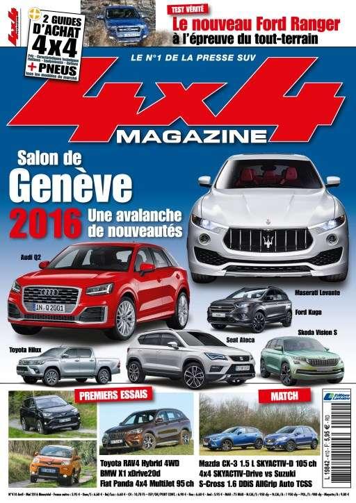 4x4 magazine 410 - Avril/Mai 2016