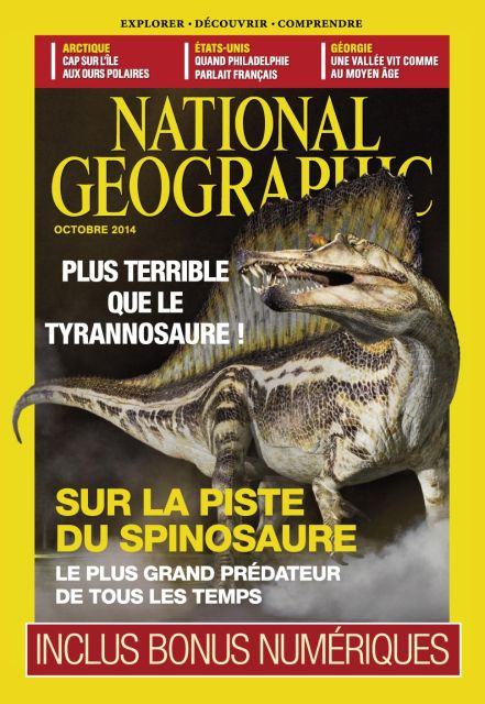 National Geographic 181 - Octobre 2014