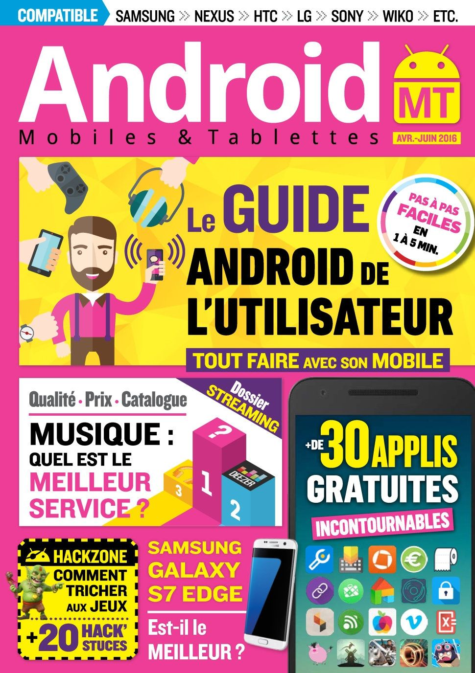 Android Mobiles et Tablettes 33 - Avril/Juin 2016
