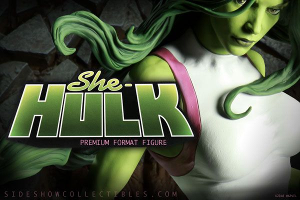 She-Hulk Premium Format Figure - Sideshow Exclusive