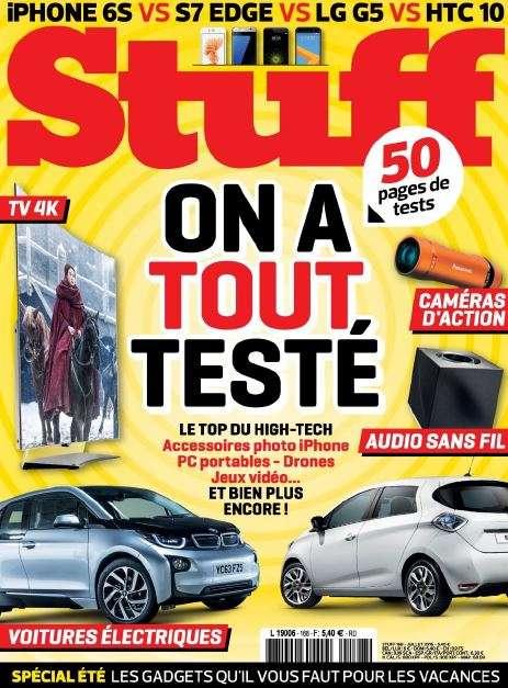 Stuff France - Juillet 2016