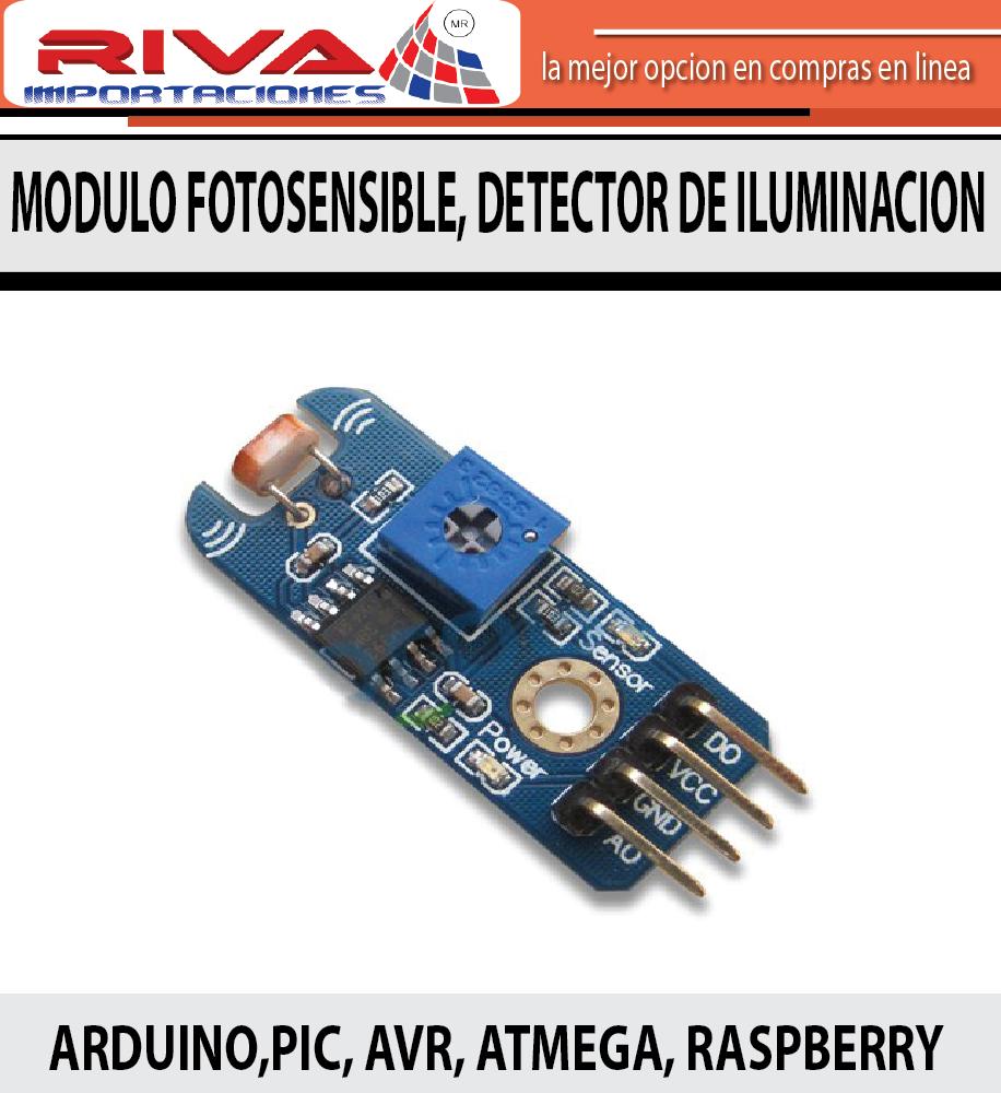 Sensor de iluminacion sensor de luz arduino pic avr 49 - Sensor de luz precio ...