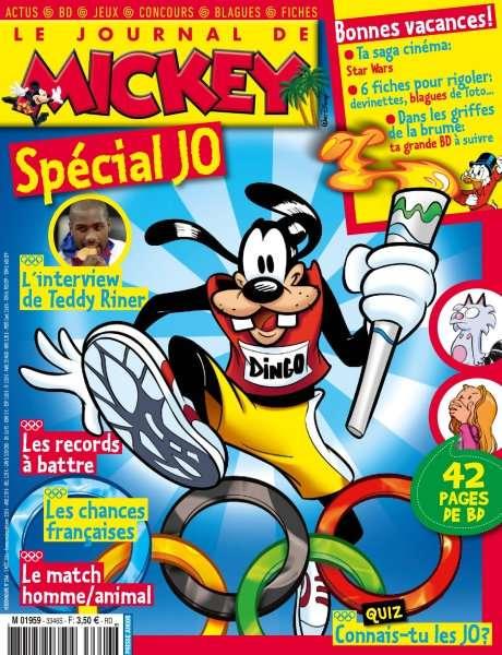 Le Journal de Mickey 3346 - 3 Août 2016