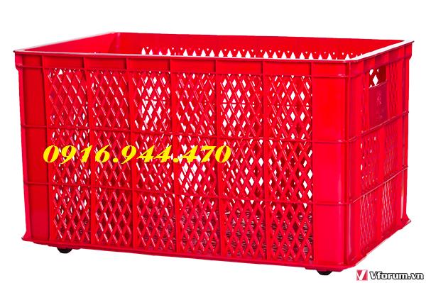 www.kenhraovat.com: Sóng nhựa 5 bánh xe, rổ nhựa 5 bánh xe call 0916.944.470