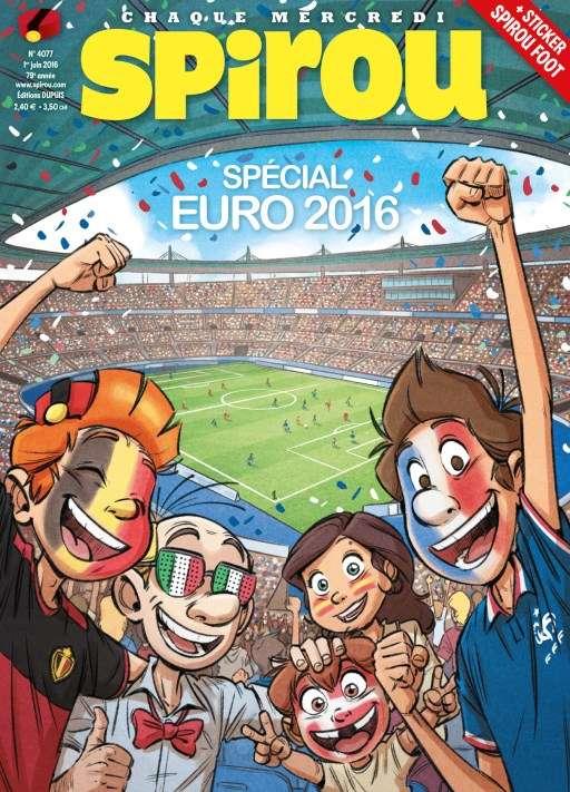 Le Journal de Spirou 4077 - 1 Juin 2016