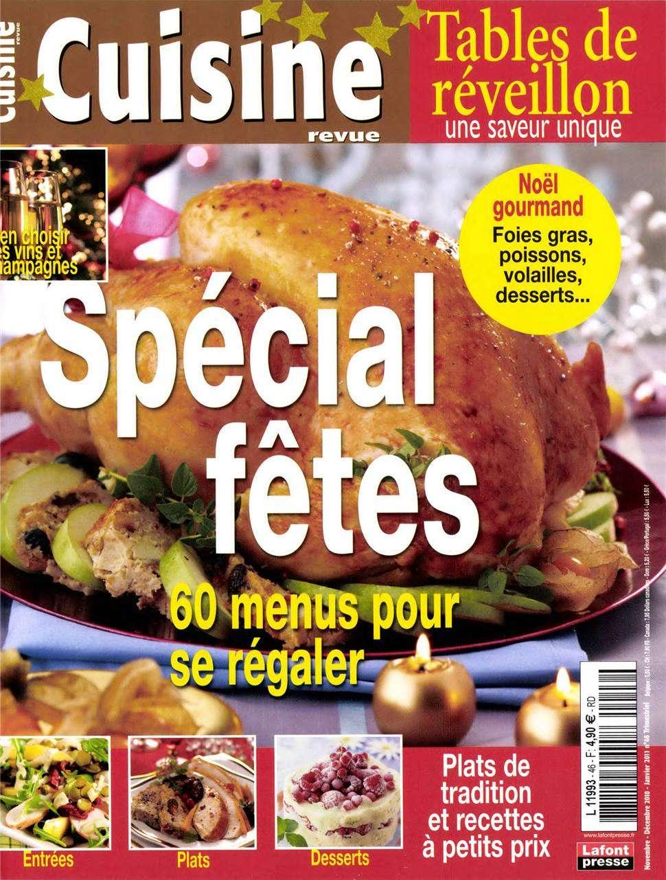 Cuisine Revue 46 - Special Fètes