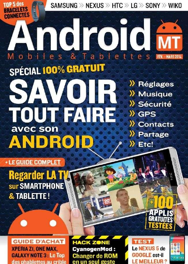Android Mobiles & Tablettes 23 - Savoir tout faire avec son Android
