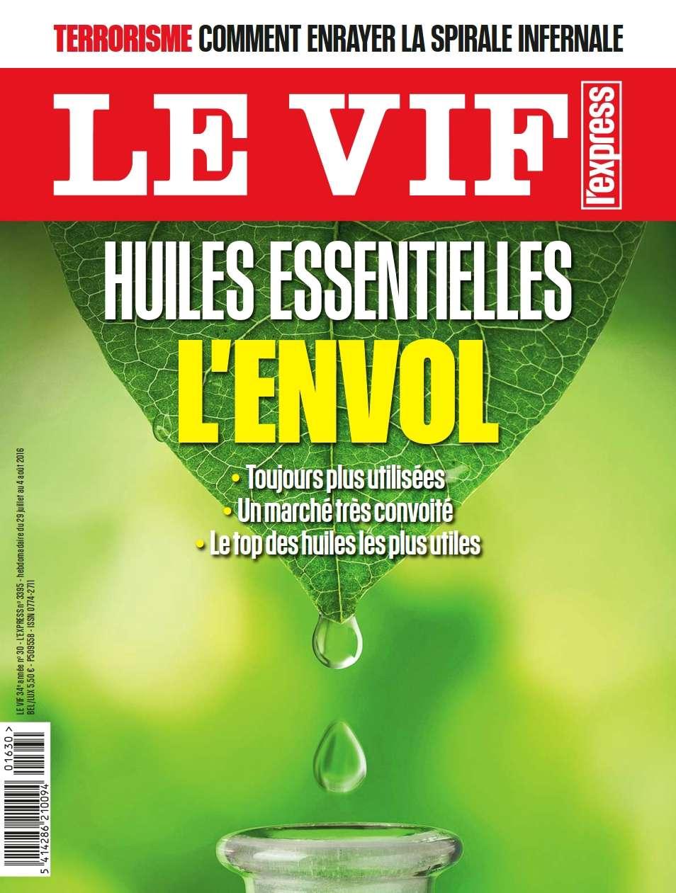 Le Vif-L'Express - 29 Juillet 2016