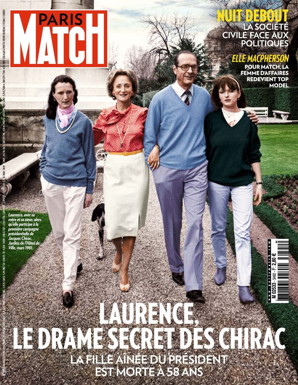 Paris Match 3492 - 20 au 27 Avril 2016