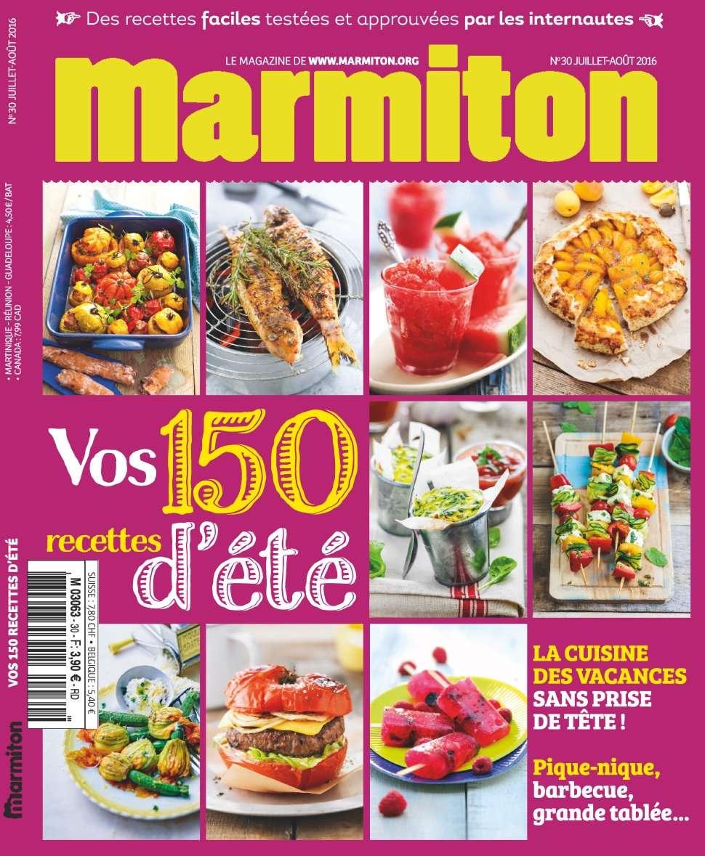Marmiton 30 - Juillet/Aout 2016