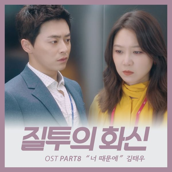 Kim Tae Woo - Jealousy incarnate OST Part.8 - Because of You K2Ost free mp3 download korean song kpop kdrama ost lyric 320 kbps