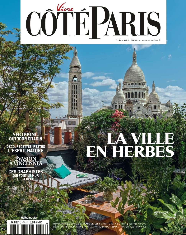 Vivre Côté Paris 44 - Avril/Mai 2016