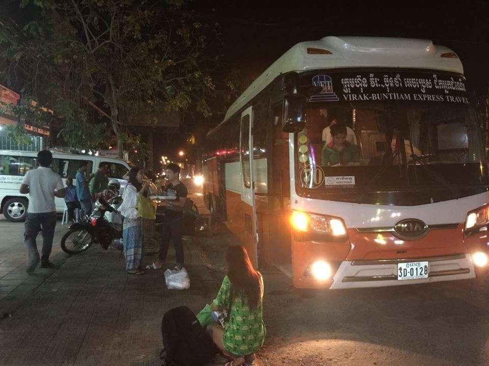 Xe bus đi campuchia tại 268 cộng hòa
