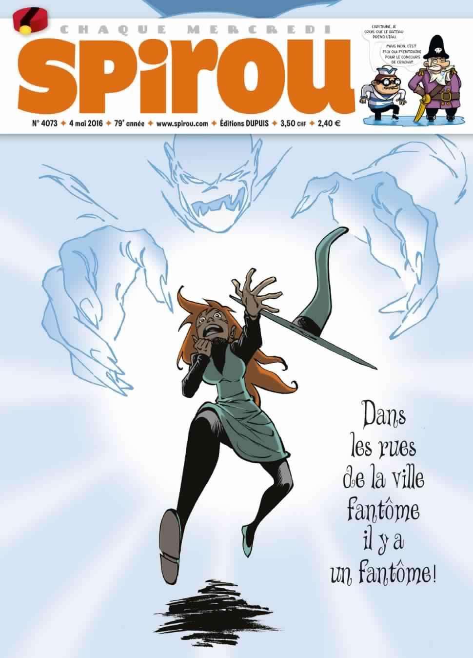 Le Journal de Spirou 4073 - 4 Mai 2016