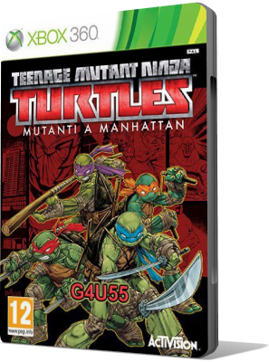 [XBOX360] Teenage Mutant Ninja Turtles: Mutants in Manhattan (2016) - FULL ITA