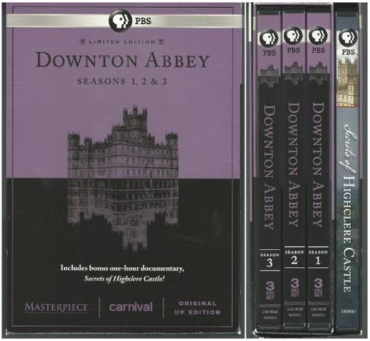 Masterpiece: Downton Abbey Seasons 1, 2 & 3 Deluxe Limited Edition (Bonus: Secrets of Highclere Castle), Downton Abbey