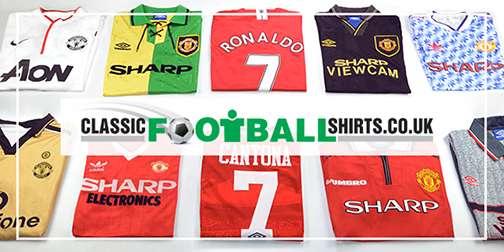 Classic United shirts