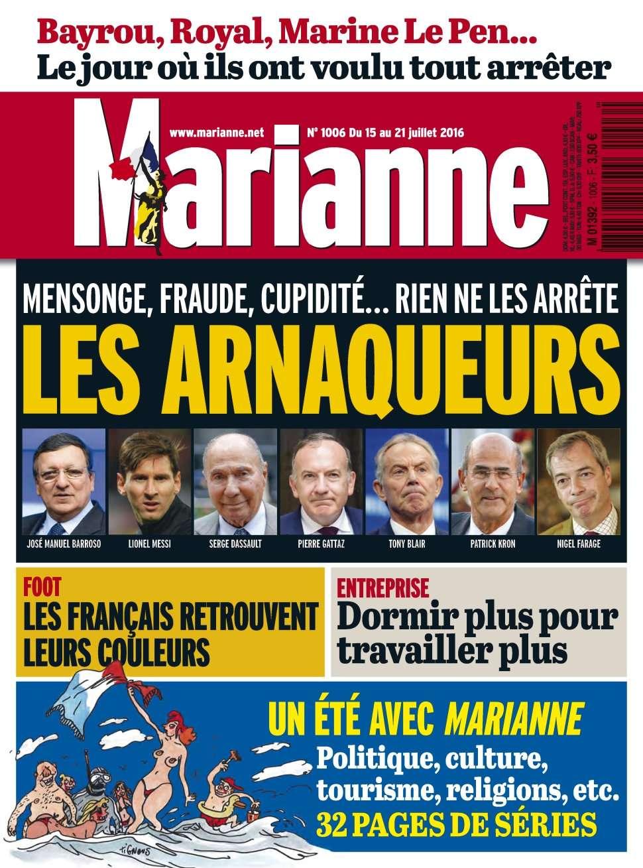 Marianne 1006 - 15 au 21 Juillet 2016