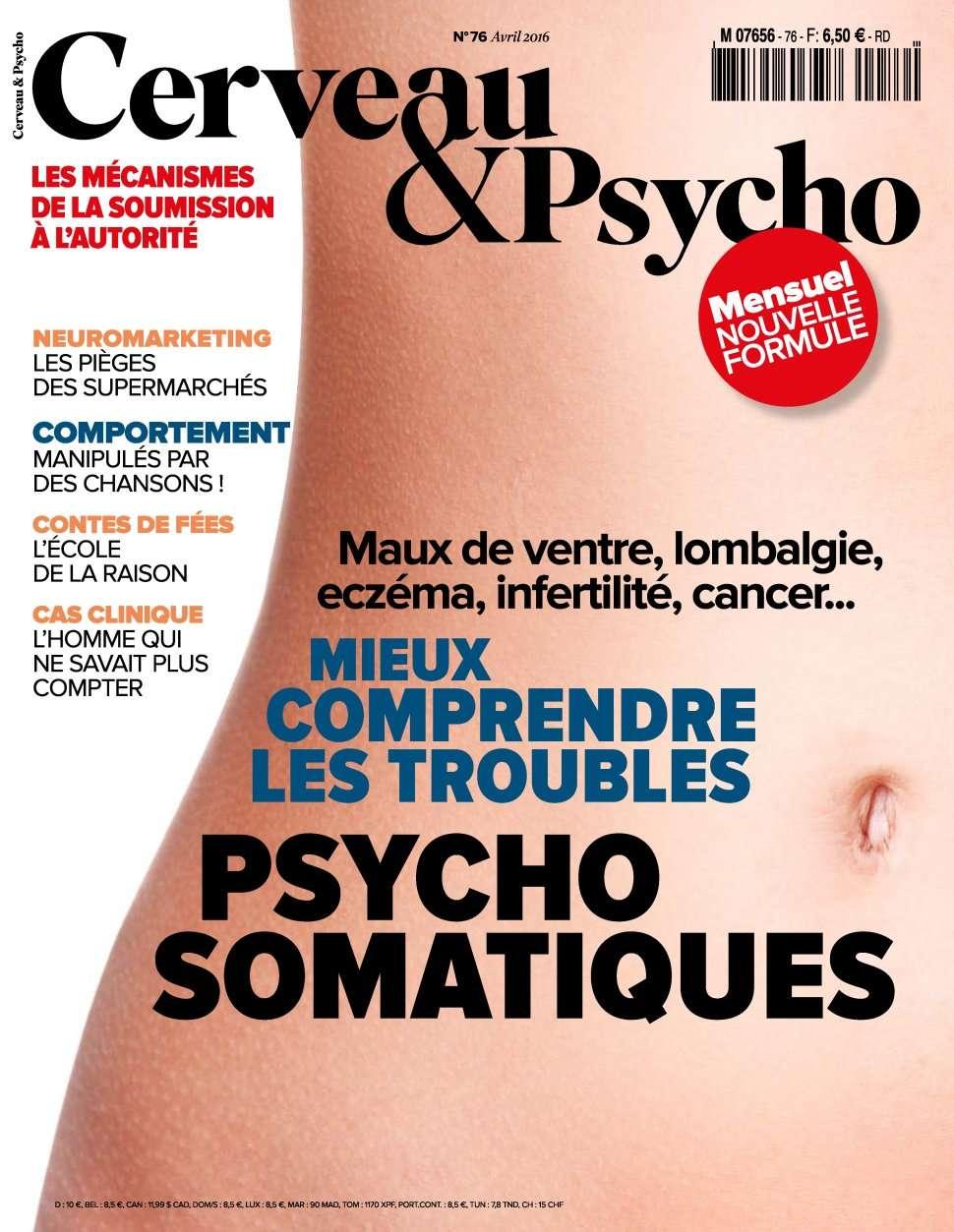 Cerveau & Psycho 76 - Avril 2016