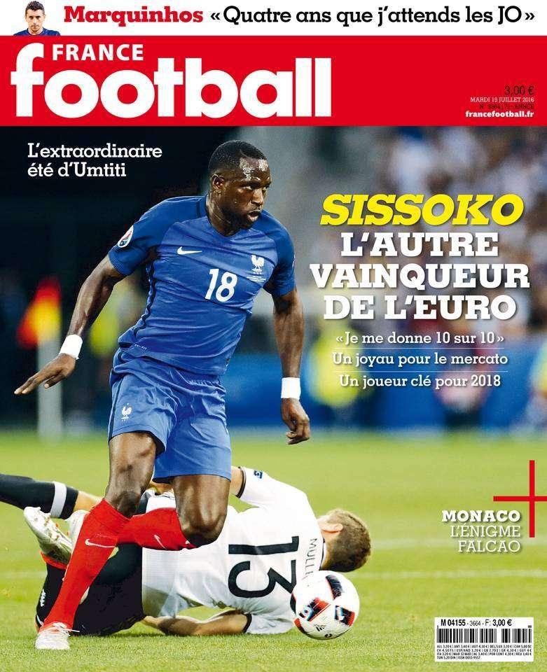 France Football 3664 - 19 Juillet 2016