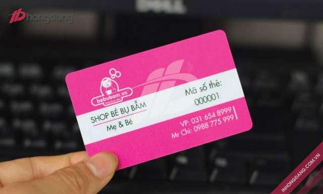 Dịch vụ in thẻ nhựa thẻ VIP tại Hồng Đăng