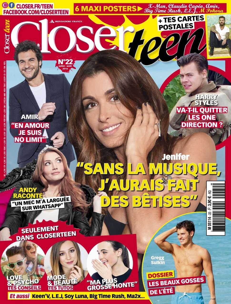 Closer Teen - Juillet/Août 2016