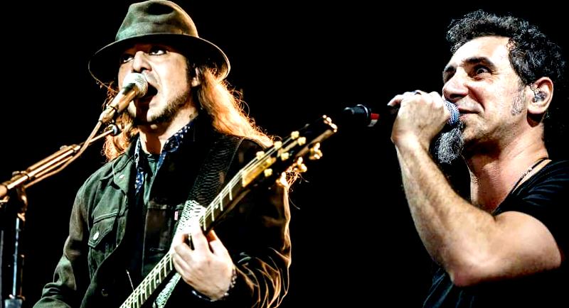 System of a Down é eleito uma das 10 bandas que melhor utilizam mais de um vocalista