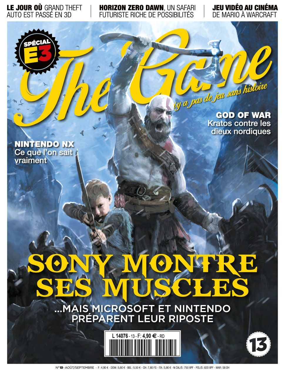 The Game 13 - Aout/Septembre 2016